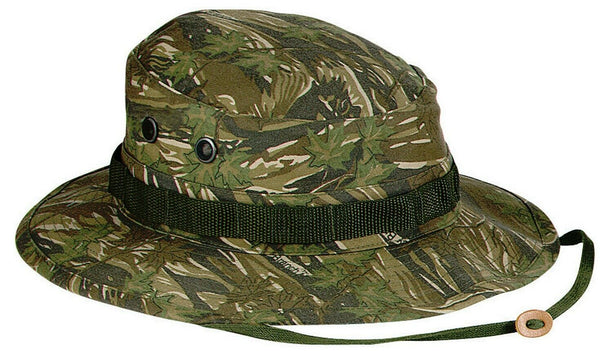 Smokey Branch Camo Booniehat Wide Brim Bucket Jungle Boonie Hat Rothco 5820