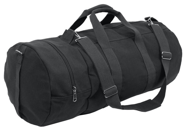 "bag sports canvas 30"" double ender black olive drab green rothco 2372"