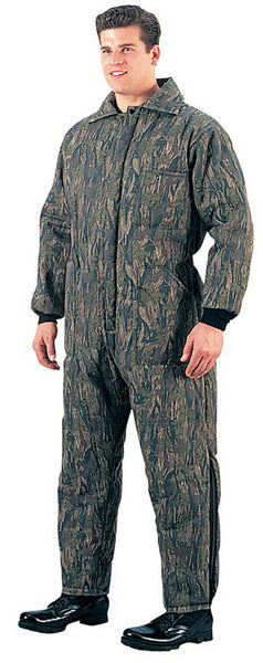 COVERALL INSULATED HUNTERS SMOKEY BRANCH CAMO VARIOUS SIZES ROTHCO 7035