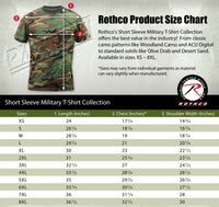 t-shirt pink camo cotton poly blend camouflage various sizes rothco 8987