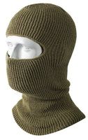 Face Mask 1 Hole Winter Double Layer Acrylic Olive Drab Rothco 5501