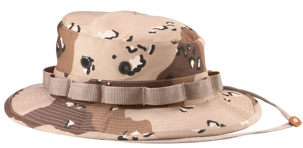 6 Color Desert Camo Military Booniehat Wide Brim Bucket Boonie Hat Rothco 5814