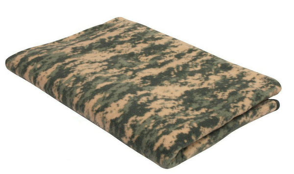 "US Army ACU Digital Camo Fleece Blanket 60"" X 80"" Large Warm Rothco 10369"