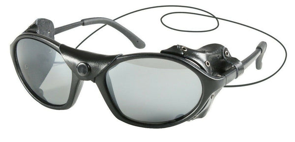 Black Wind Guard CE Tactical Sunglasses Glacier Ski Aviator Glasses Rothco 10380