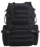 Black Coyote Brown Assault Pack Laptop Computer Molle Backpack Rothco 25500