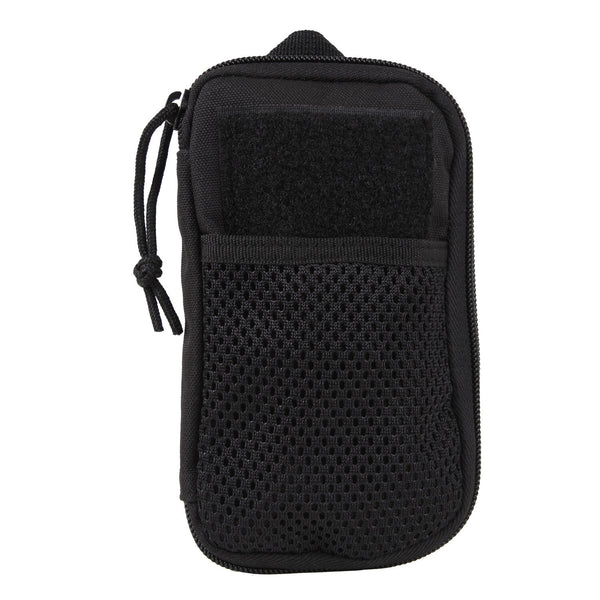 wallet tactical molle compatible black organizer rothco 11660