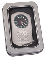 stainless steel dog tag watch with chain rothco 3591