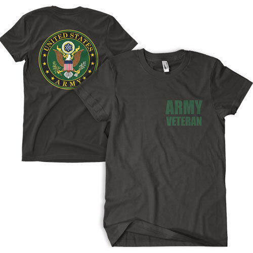 t-shirt us army veteran fox outdoor 63-4850