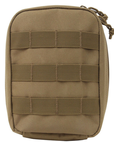 First Aid Trauma Kit Pouch Molle Tactical Coyote Brown Rothco 9703