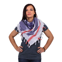 Scarf Stars and Stripes USA Desert Military Style Shemagh Cotton Rothco 88550