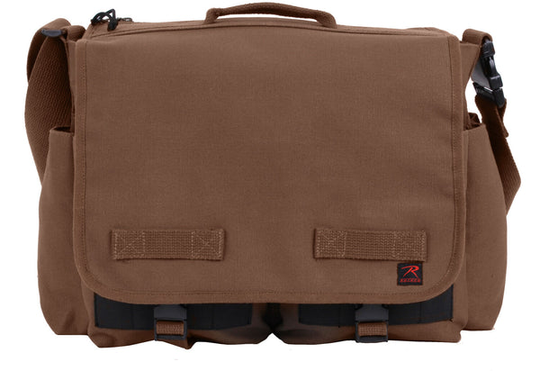 ccw concealed carry pistol handgun messenger bag rothco 91219