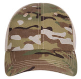 tactical multicam camo hat baseball cap ballcap mesh back rothco 99554