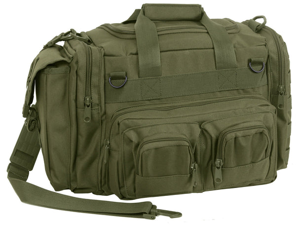 Green Tactical Concealed Carry Bag Pistol Gun Range Large Duffle CCW Rothco 2657