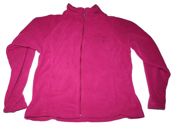 Womens Fuchsia Fleece Jacket With Military Discreet Military Design OND Kuwait