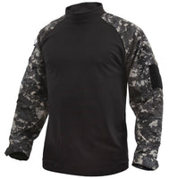 Tactical Airsoft Subdued Urban City Digital Camo Combat Shirt Rothco 45120