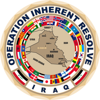 Coalition Forces Operation Inherent Resolve Coin Iraq Middle East
