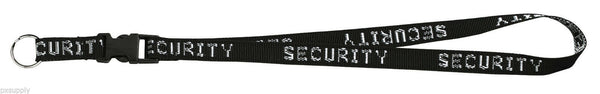 "security neck strap key ring chain id holder neck lanyard 32"" rothco 2705"