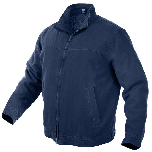 ccw jacket concealed carry coat 3 season navy blue various sizes rothco 54385