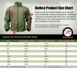 soft shell jacket ccw concealed carry tactical coat olive drab rothco 55585