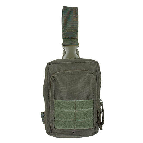 medic drop leg emt first responder system pouch olive drab fox 58-200