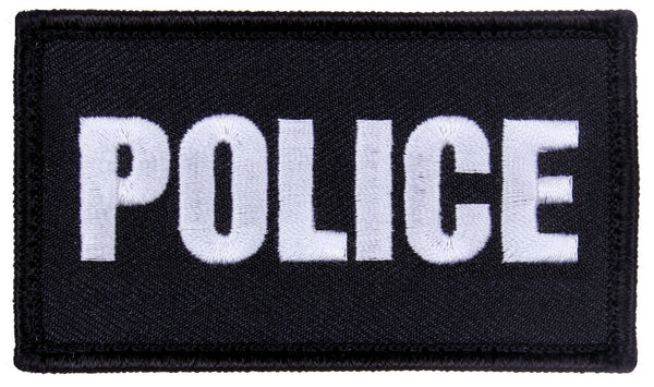 Tactical Police Patch With Hook Backing For Hat Jacket Vest Pack Rothco 1798