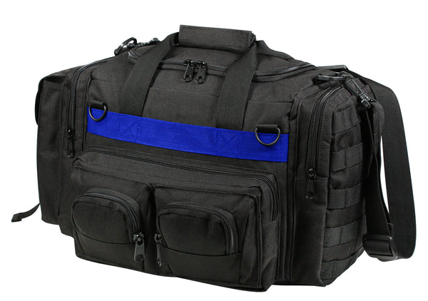 Police Thin Blue Line Range Bag Concealed Carry CCW Pack Black Rothco 2656