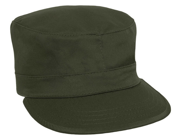 OD Military Style Fatigue Cap Olive Drab Uniform BDU Hat Rothco 9336