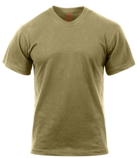 US Army T-shirt Coyote Brown AR-670-1 Compliant Military OCP Cotton Rothco 2934