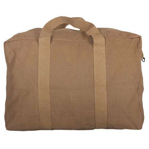 cargo bag parachute style canvas coyote brown fox 40-58