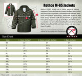 Field Jacket M-65 Removable Liner Olive Drab Military Winter Coat Rothco 8238