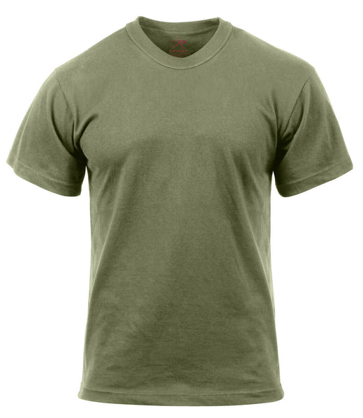 Military PT T-shirt Foliage Green Moisture Wicking Polyester Shirt Rothco 9565