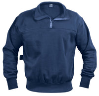 workshirt firefighter ems sweatshirt zip up collar various sizes rothco 8748