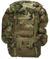 Woodland Camo Tactical Combat Pack Military Backpack CFP-90 Rothco 2237