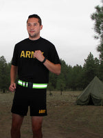 Elastic Reflective PT Belt Physical Training Adjustable Safety Belt Rothco 6037