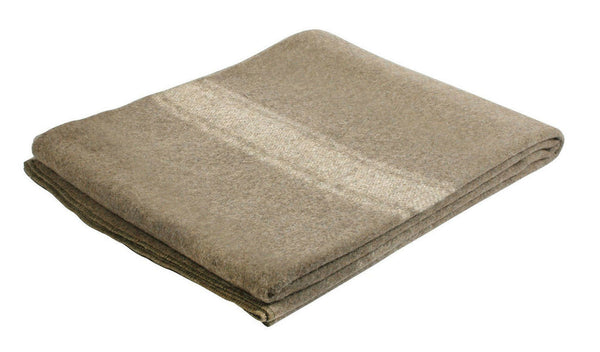 Military Surplus European Style Wool Blanket Rothco 10244