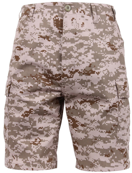 military style bdu shorts desert digital camo rothco 65416