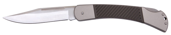 "folding hunting pocket knife stainless steel 8.5"" long rothco 5258"