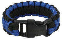 Thin Blue Line Survival Paracord Bracelet Police Blue Lives Matter Rothco 973