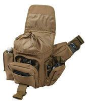 tactical shoulder bag modular molle coyote brown advanced pack rothco 2638