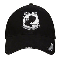Military POW Mia Hat Ballcap Baseball Cap Missing In Action Prisoner Rothco 9369