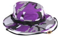 Ultra Violet Camo Booniehat Wide Brim Bucket Boonie Jungle Hat Rothco 5348