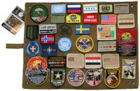 Wall Hanging Roll Up Tactical Patch Board For Your Patch Collection Rothco 9010