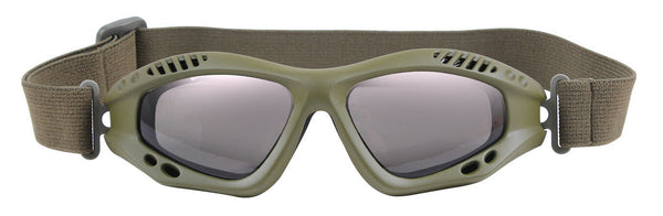 Ventec Anti Fog Tactical Goggles Shatterproof Sunglasses Olive Drab Rothco 11378
