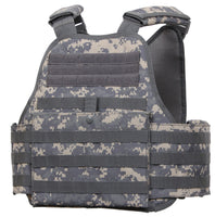 ACU Army Digital Camo Plate Carrier Vest Molle Modular Adjustable Rothco 8932