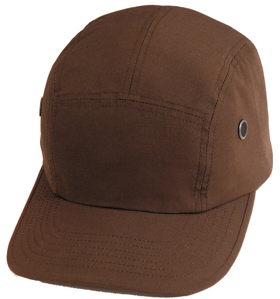 Brown Street Cap Military Cotton Polyester Rip Stop Hat Rothco 9545