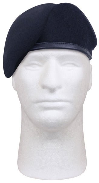 Beret Blue Inspection Ready Made to MIL SPEC various sizes Rothco 4979 No Flash