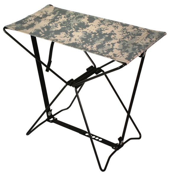 Lightweight Portable Chair Folding Camp Stool Camping ACU Camo Rothco 4545