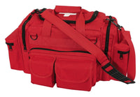 bag emt rescue trauma red with white cross emergency rothco 2659