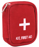 First Aid Belt Pouch Canvas Emergency Medic EMS Kit Pouch Red Olive Drab 8325