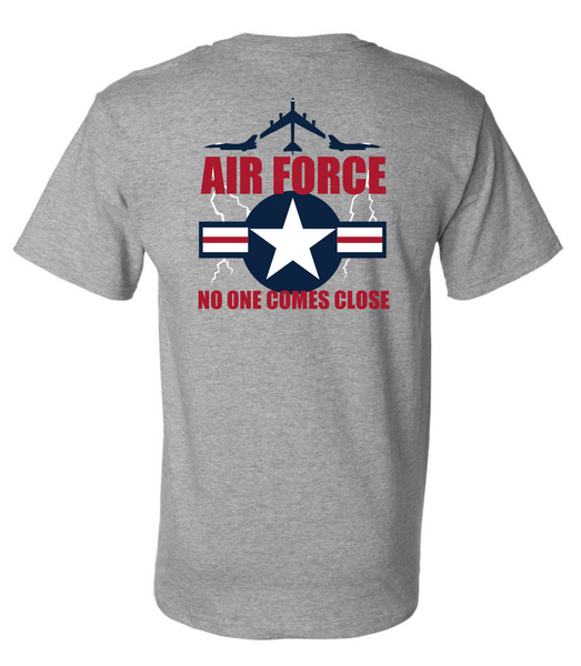 USAF Shirt US Airforce Wing Star Air Force T-shirt No One Comes Close